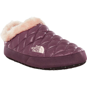 The North Face W's ThermoBall Tent Mule Faux Fur IV Shoes Shiny Fig/Vintage White